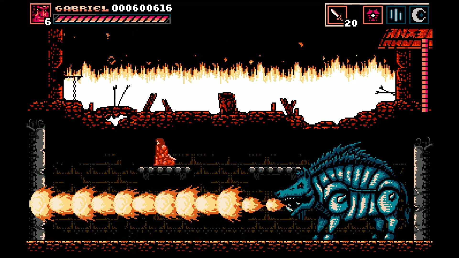 Lords of Exile captures the spirit of classic Castlevania screenshot