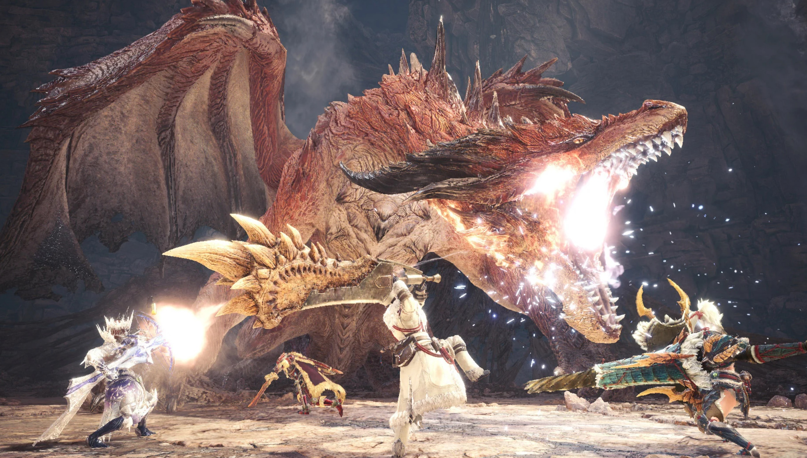 Monster Hunter: World team reveals the most-hunted monsters you love to farm screenshot