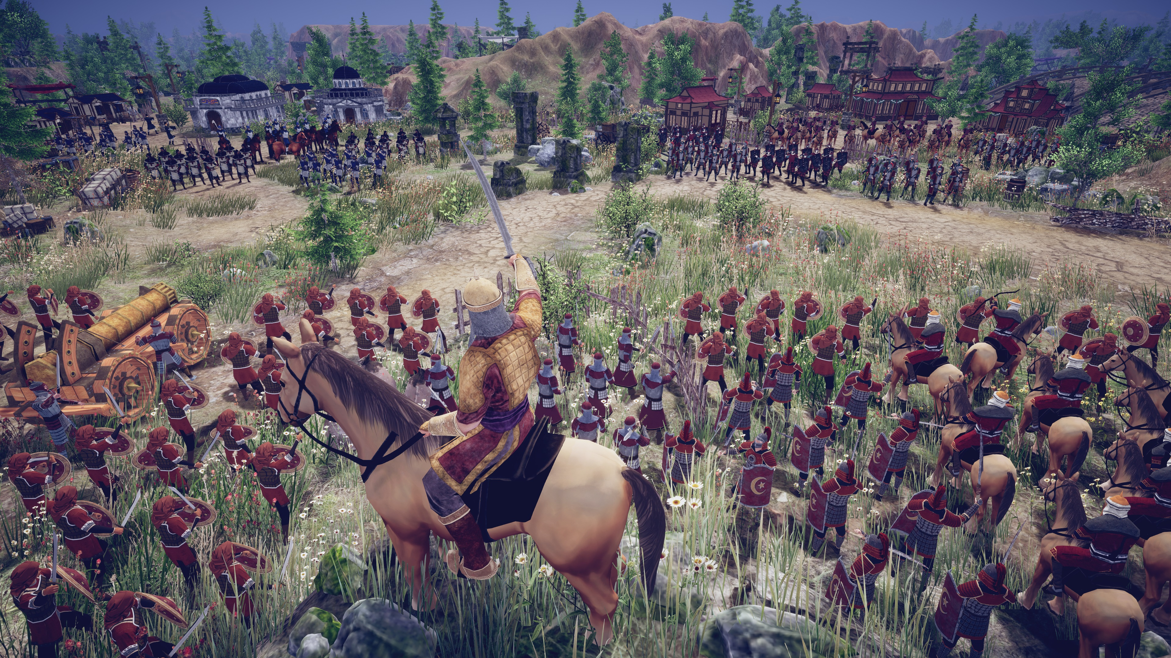 Contest: Engage in medieval mortal combat with a Steam copy of RTS title Taste of Power screenshot