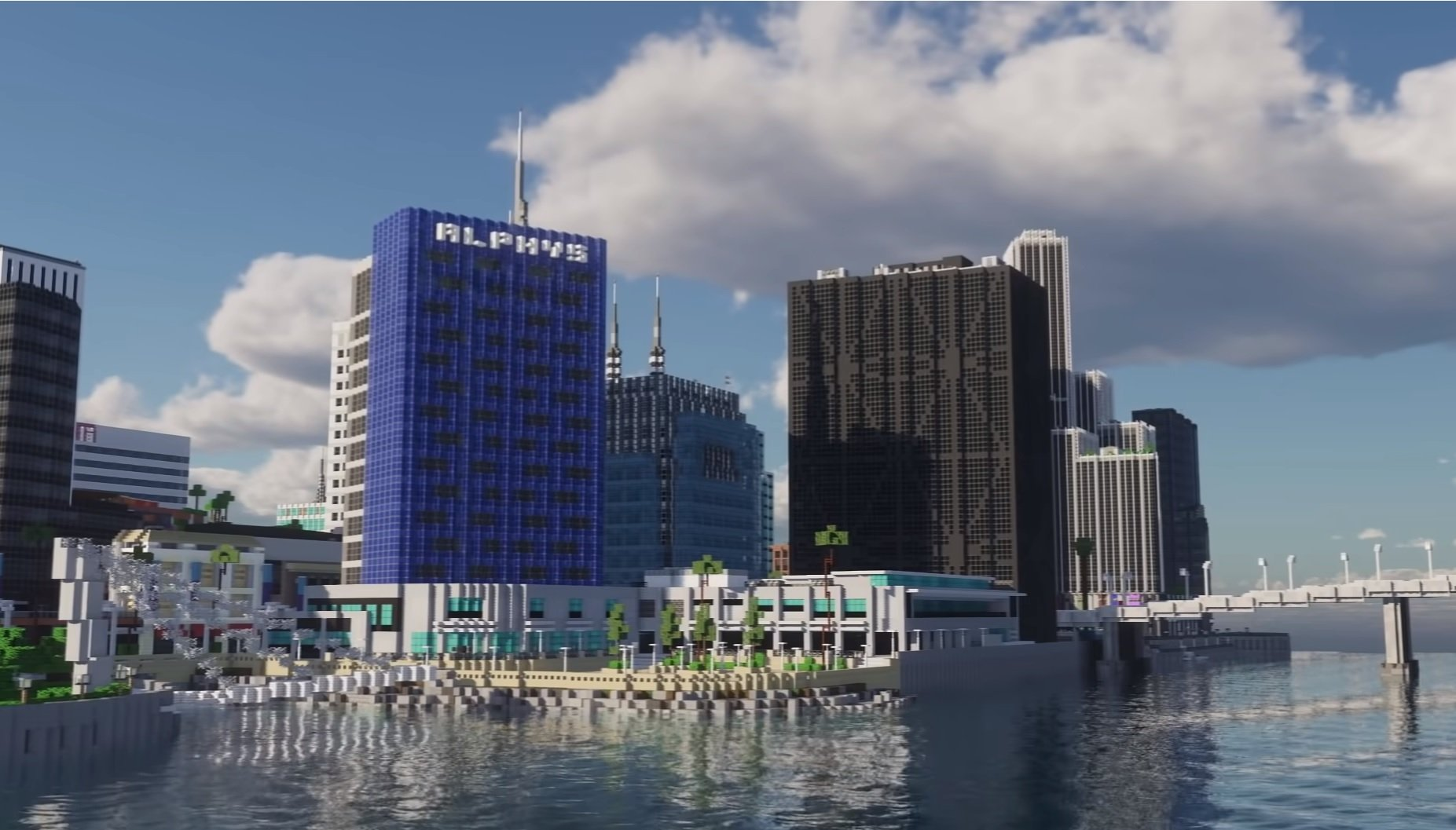 People will be able to visit Minecraft's Greenfield soon: a digital city almost a decade in the making screenshot