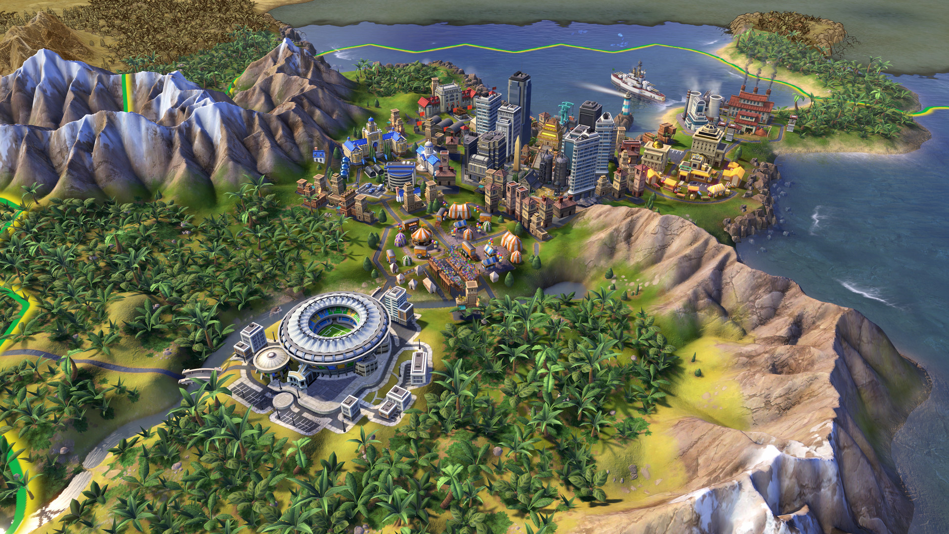 Civilization VI, which retails for 60 bucks, is free on the Epic Games Store screenshot