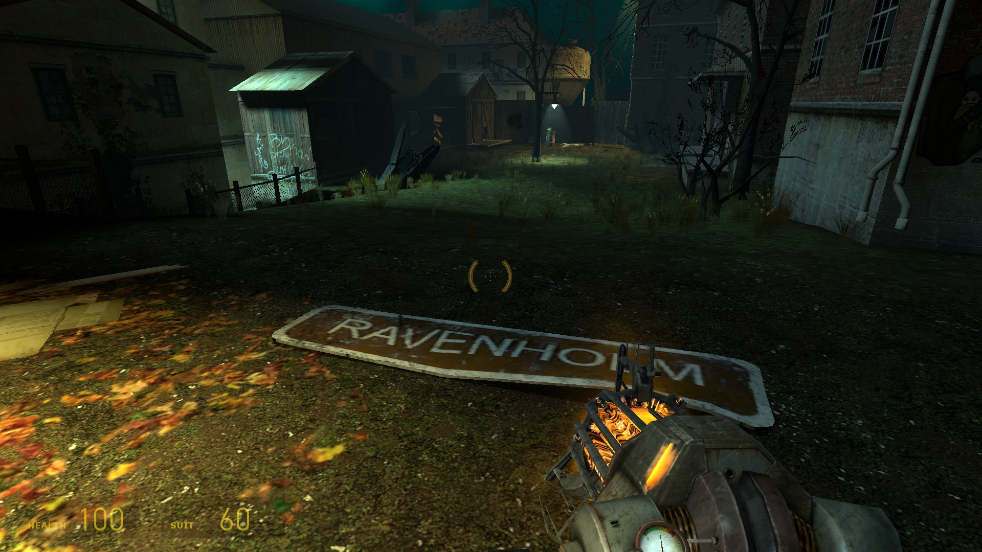 Here's a GIF of Arkane's canceled Half-Life 2: Episode 4 and Ravenholm's door-ripping zombies screenshot