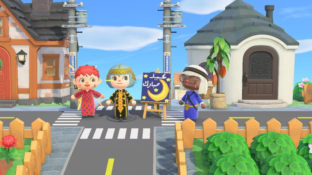During isolation, Muslims turn to Animal Crossing to celebrate Eid screenshot