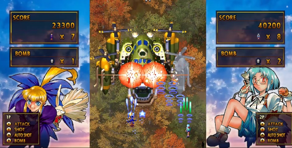 The excellent Gunbird 2 comes blazing onto PC June 10 screenshot