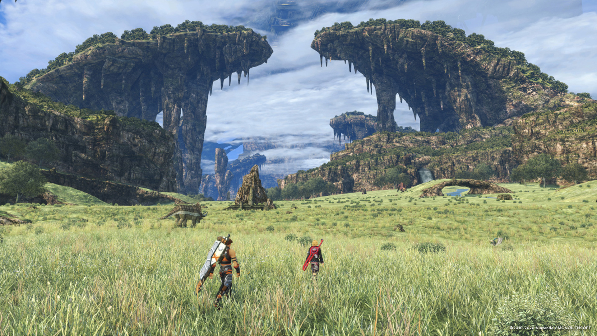 Nintendo releases even more Xenoblade Chronicles wallpapers screenshot
