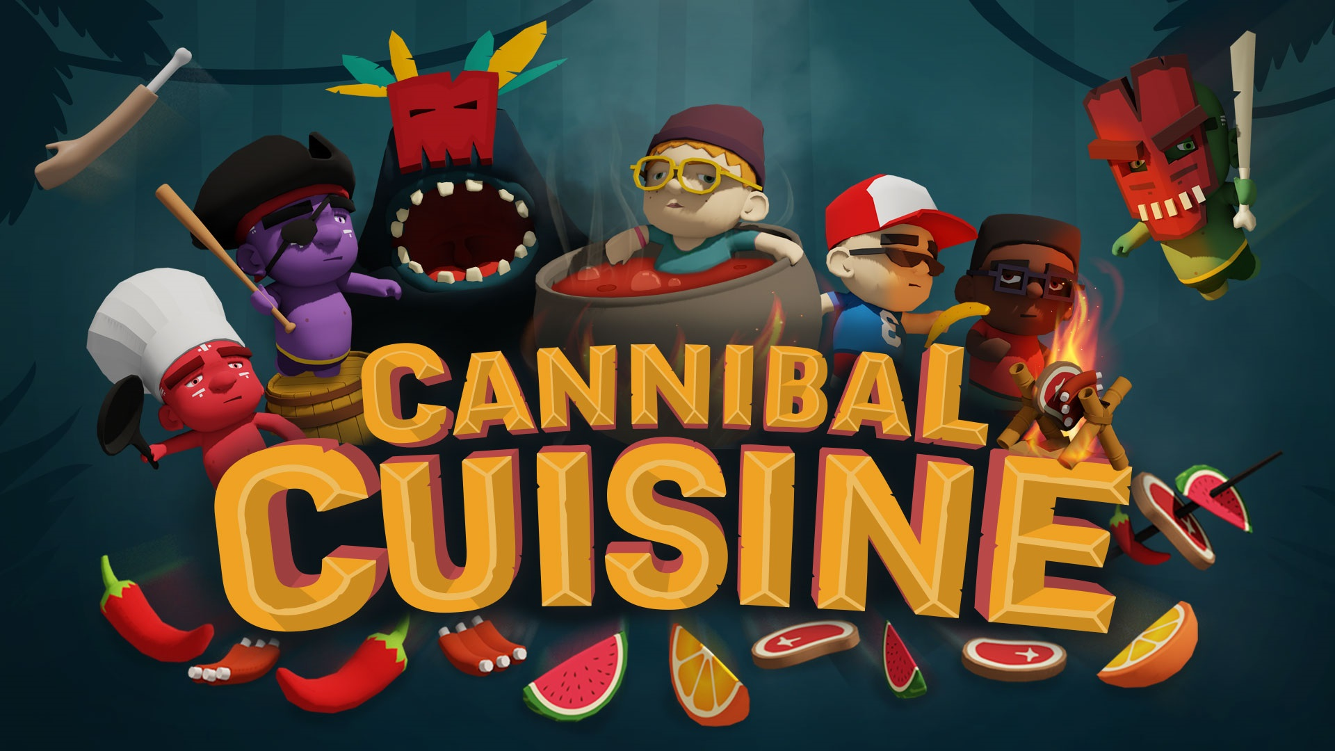 Contest: Have your friends, and eat them too, with a Switch or PC copy of Cannibal Cuisine screenshot