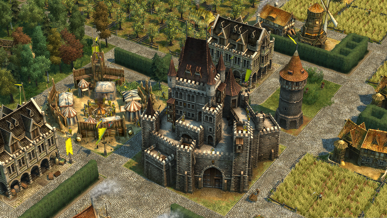 Anno History Collection is a four-in-one city-building bundle screenshot