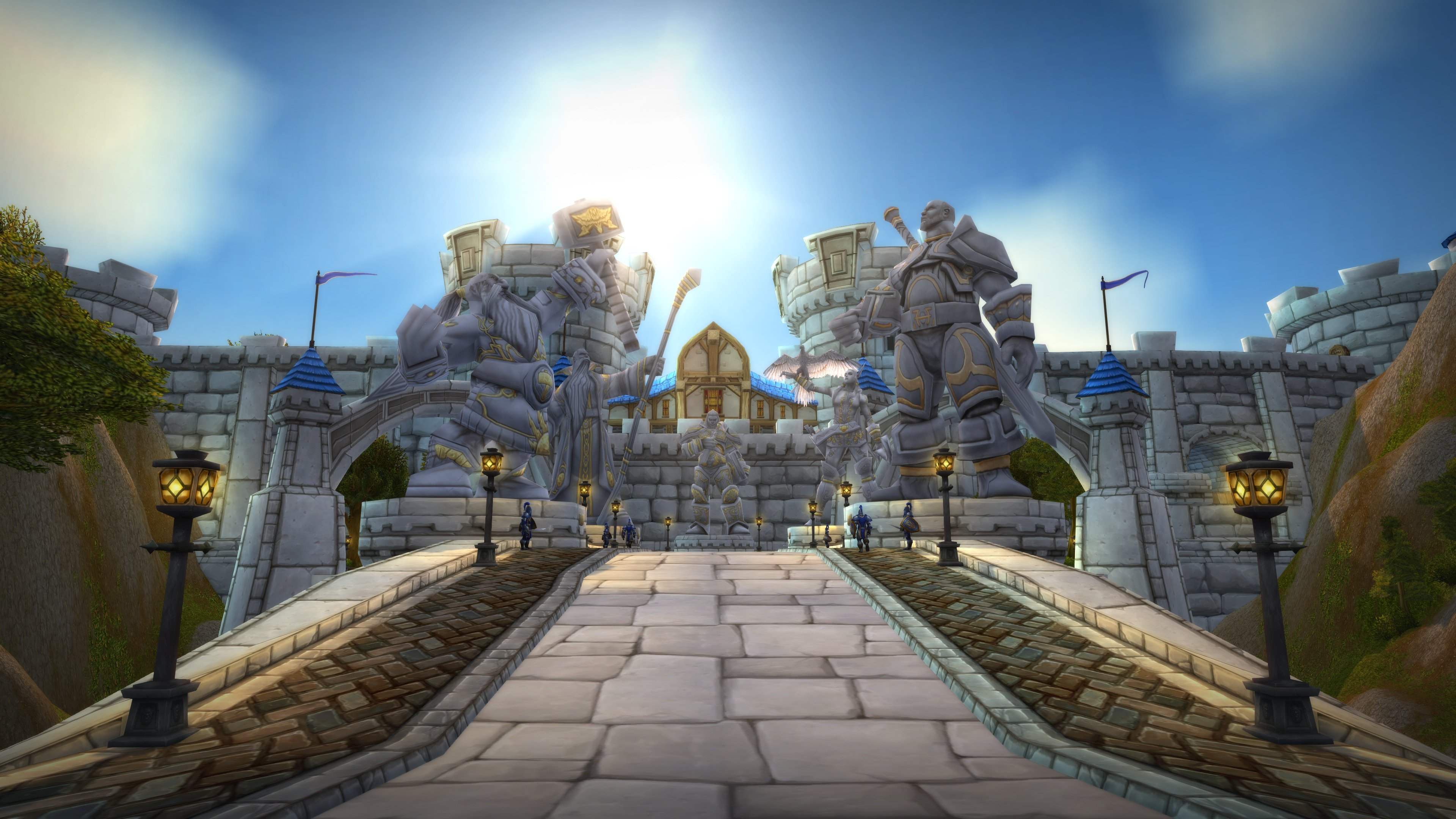 Blizzard releases 4K World of Warcraft backgrounds for new and classic areas screenshot