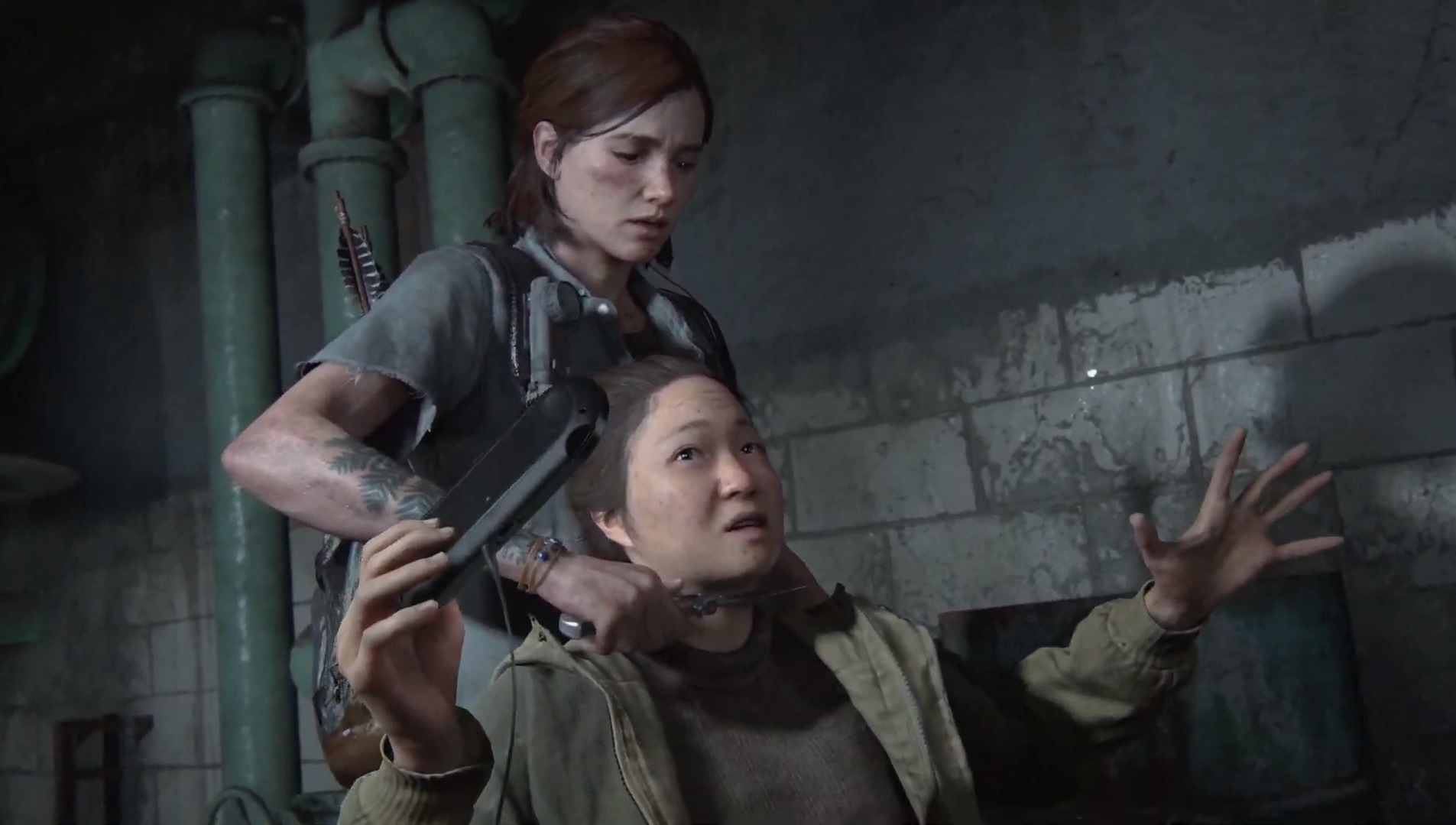 PlayStation Vita still exists in the The Last of Us Part II screenshot
