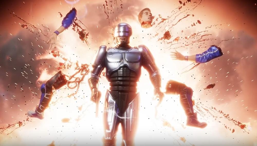 Mortal Kombat 11 RoboCop Fatalities, Brutalities, Krushing Blow and Friendship guide screenshot