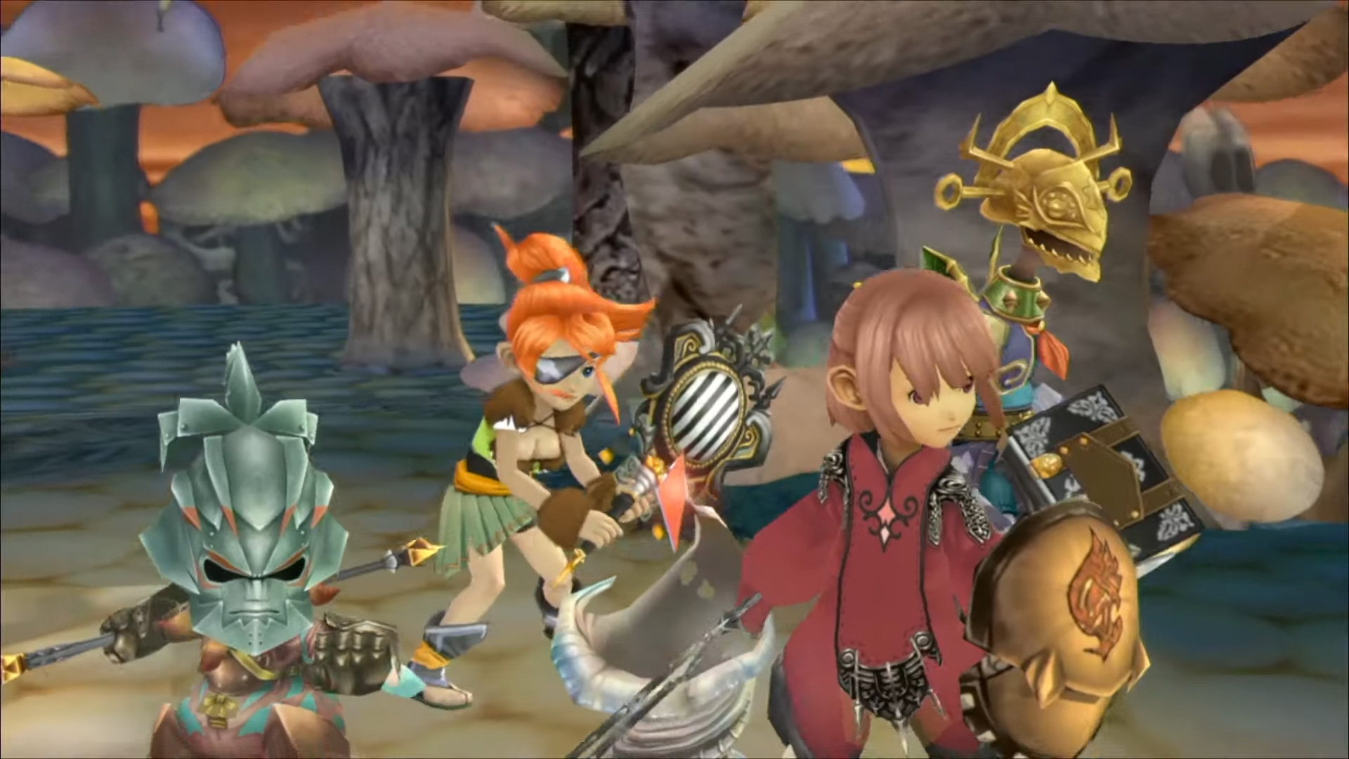 Final Fantasy Crystal Chronicles alternate skins