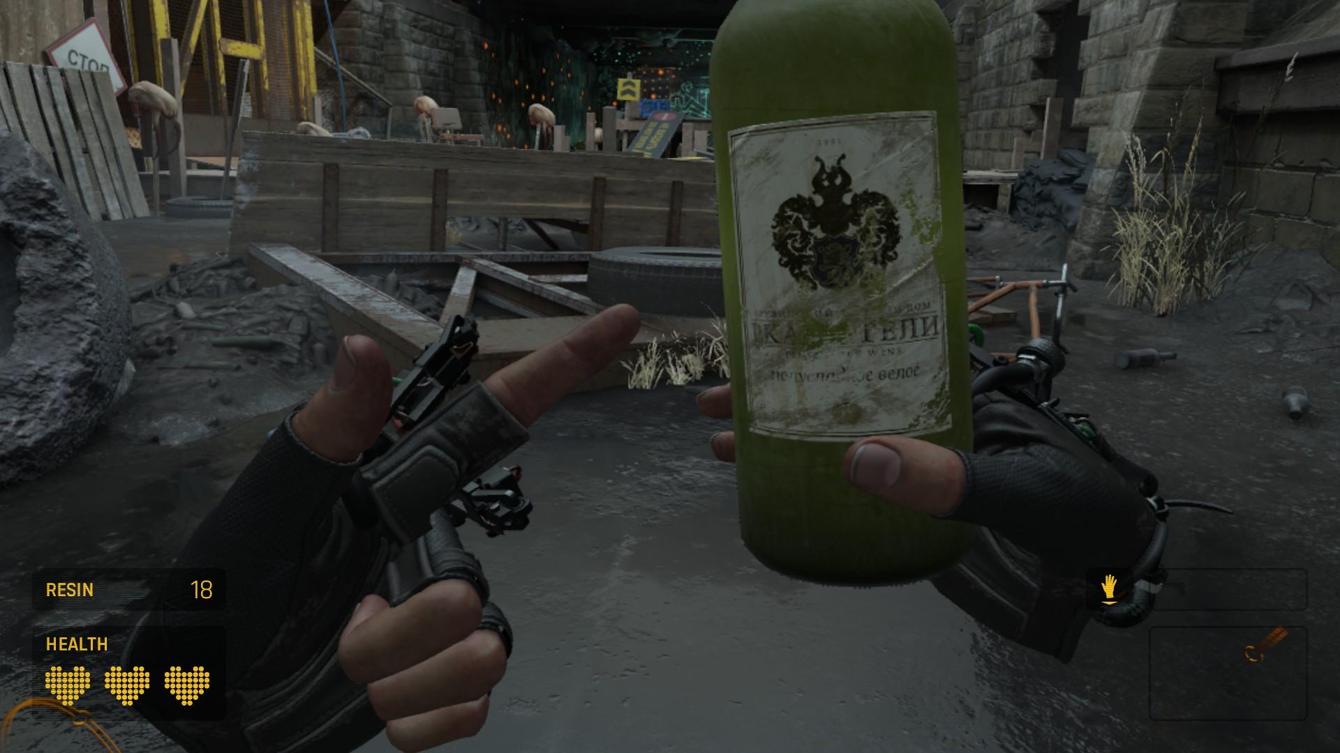 Half-Life: Alyx's firewater sloshes around real nice now screenshot