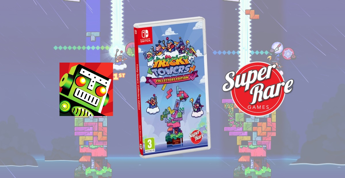Contest: Super Rare Games just released Tricky Towers on Switch, so win it why don't ya screenshot