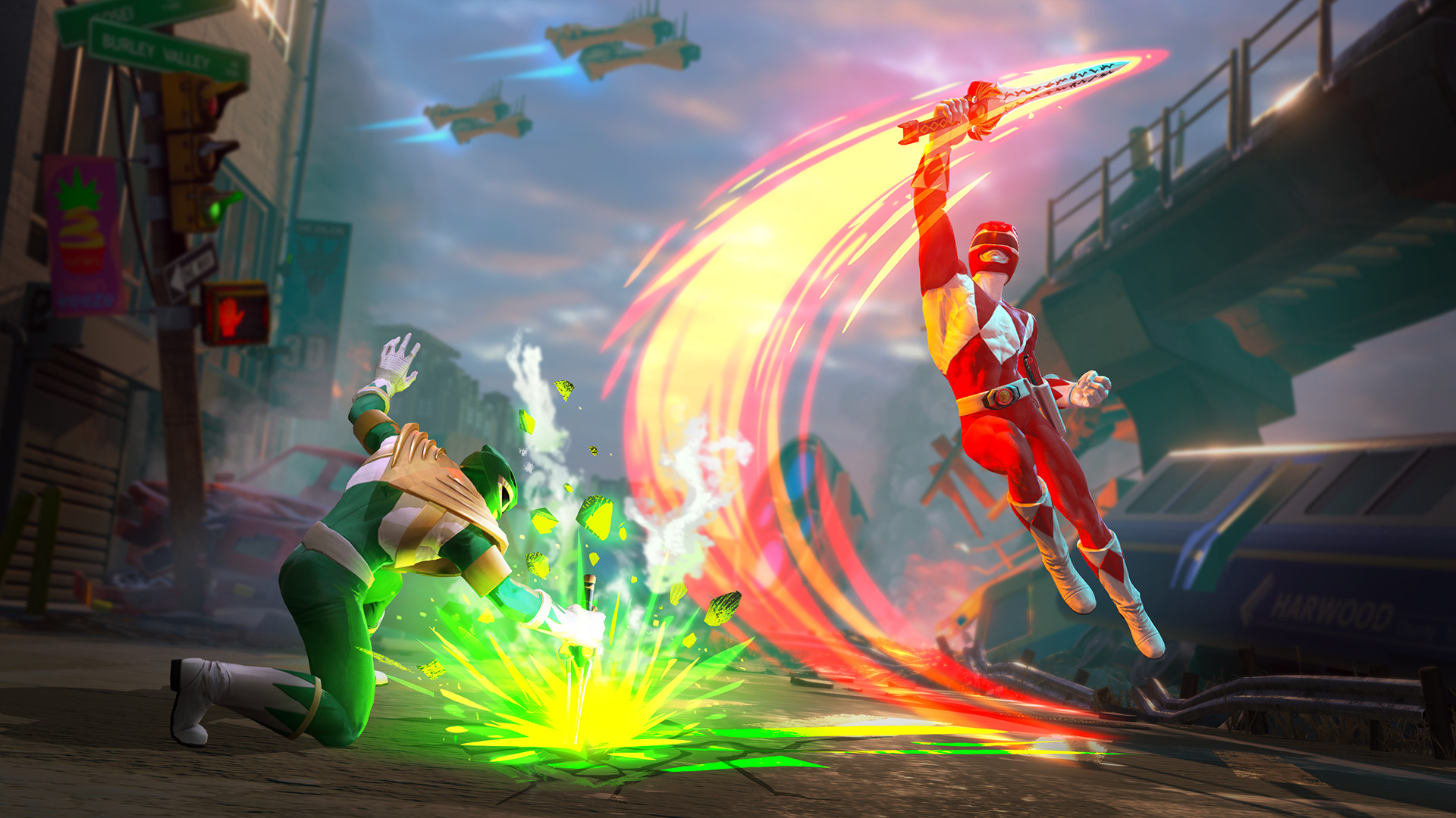 Power Rangers: Battle For The Grid aims to be the first fighting game with five-way cross-play screenshot