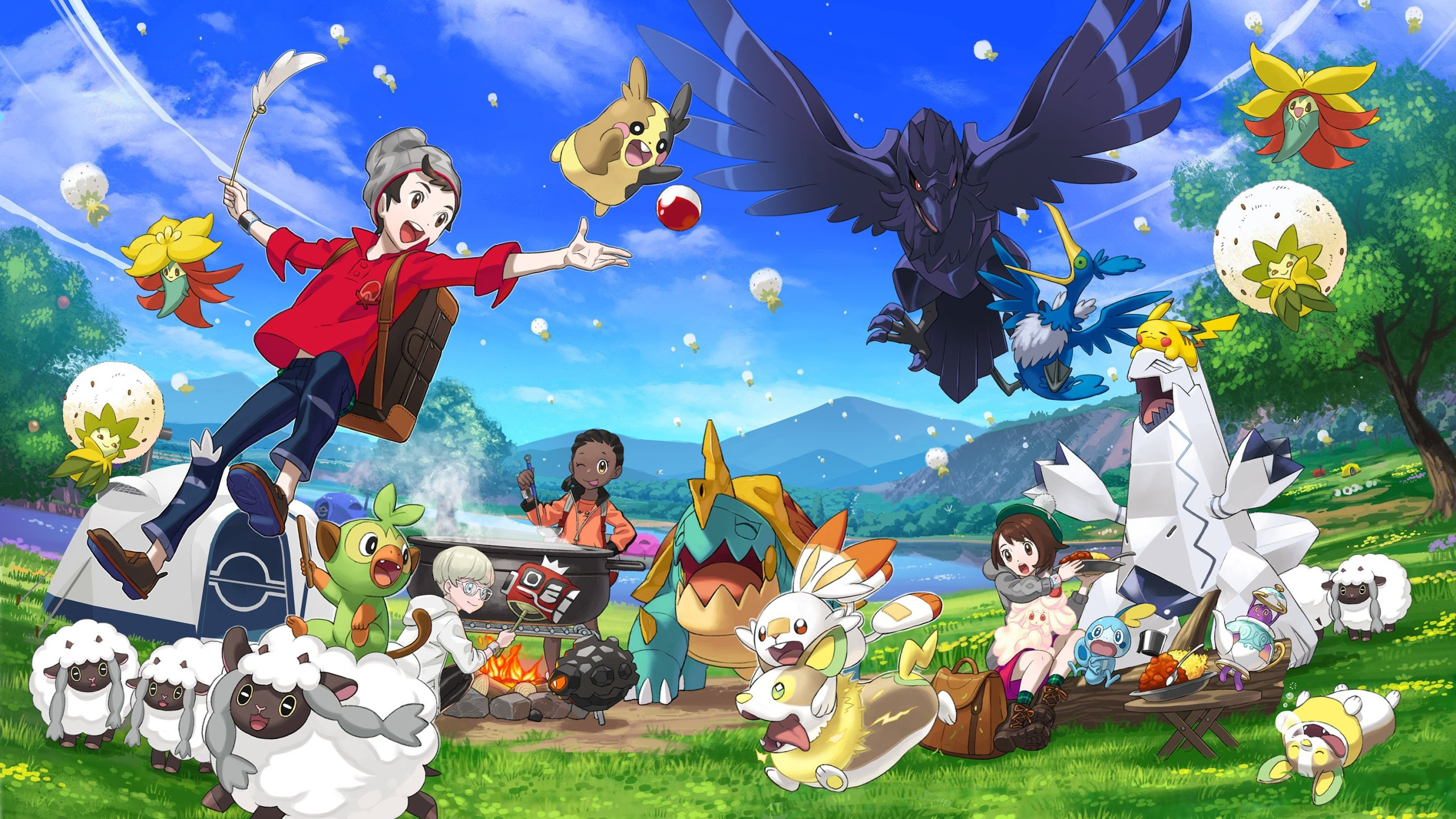 More info about Pokemon Sword and Shield's expansions is coming tomorrow morning screenshot