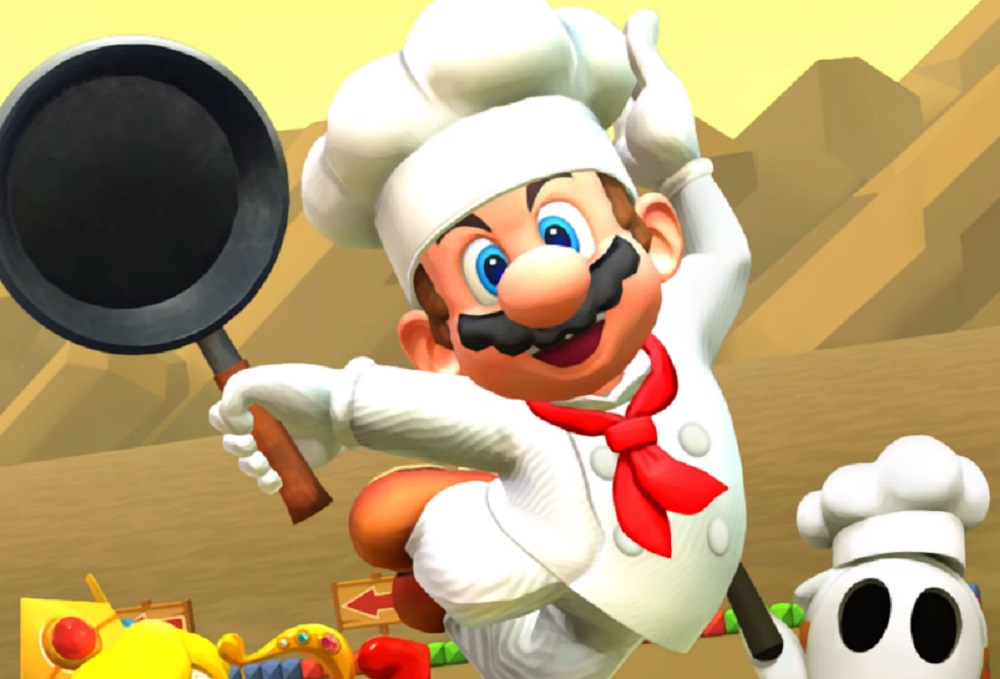 Mario Kart Tour's 'Cooking Tour' adds Chef Mario and Choco Island screenshot