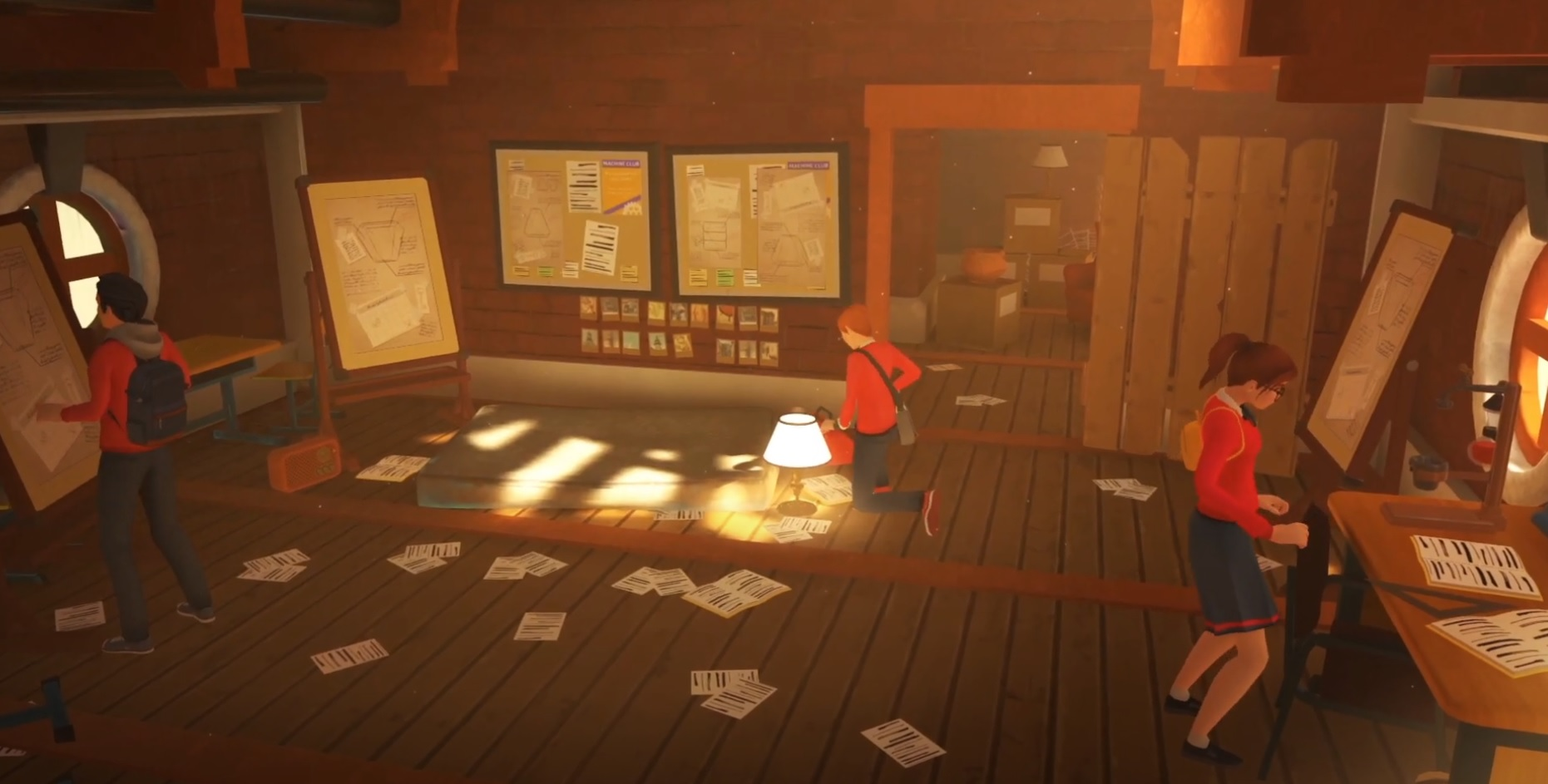 The Academy: The First Riddle is described as 'Harry Potter meets Professor Layton' screenshot