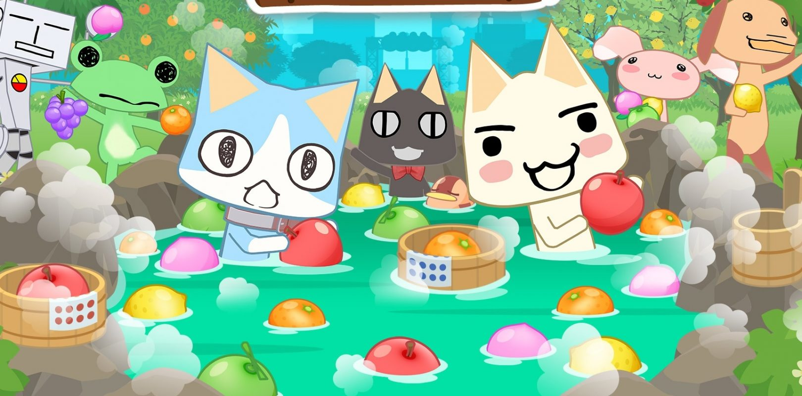 The latest game featuring Sony's cat mascot Toro is getting localized this month screenshot