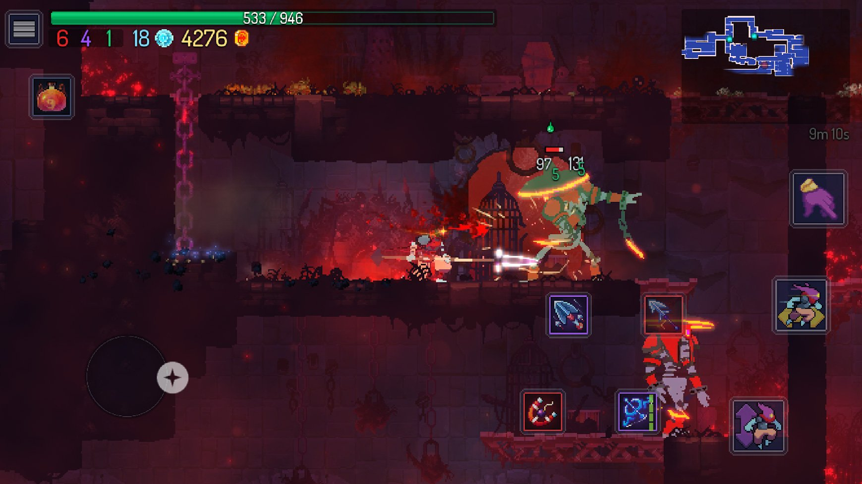 Dead Cells launches on Android with a slight discount screenshot