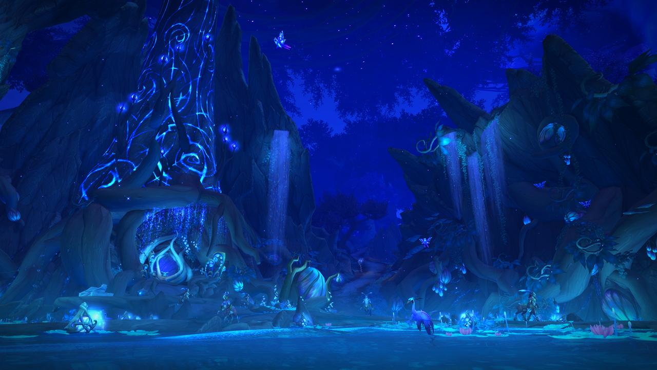 World of Warcraft unveils its new fairy world of Ardenweald screenshot