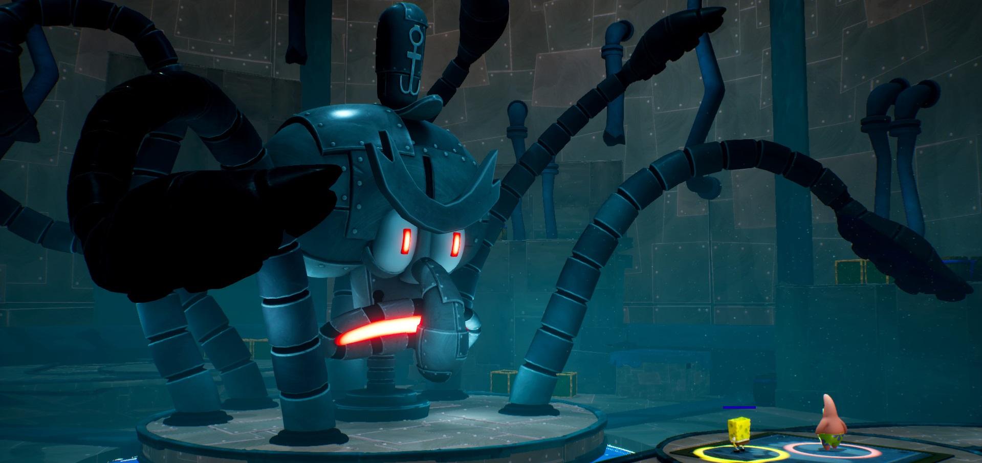 Who has a multiplayer horde mode under the sea? SpongeBob SquarePants! screenshot