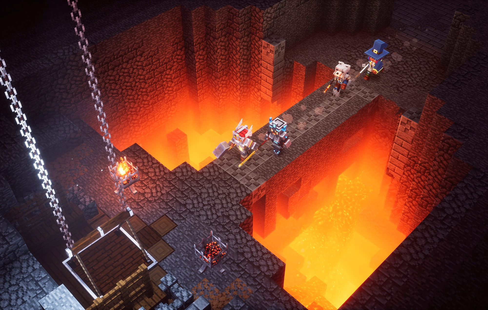 Minecraft Dungeons dethrones Animal Crossing as the eShop's top seller screenshot