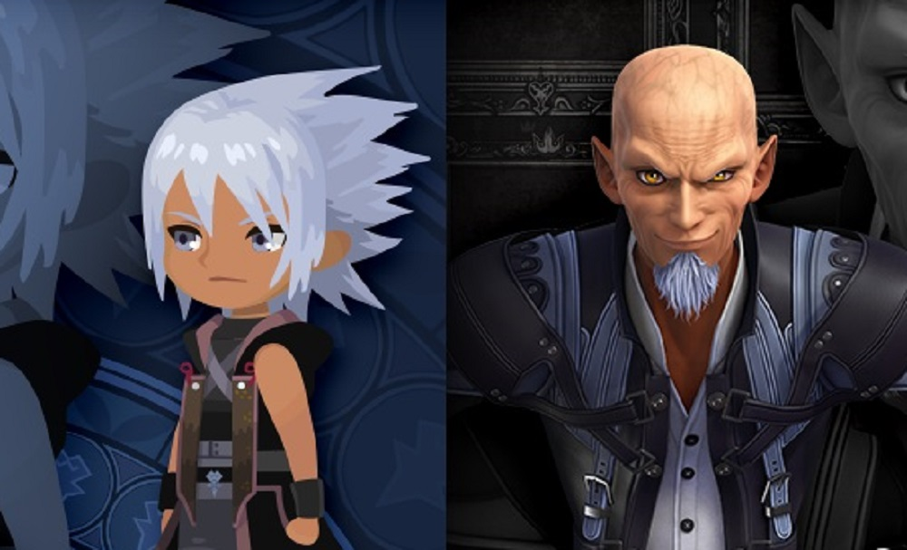 Kingdom Hearts: Dark Road releases first screens of Xenahort and Eraqus screenshot