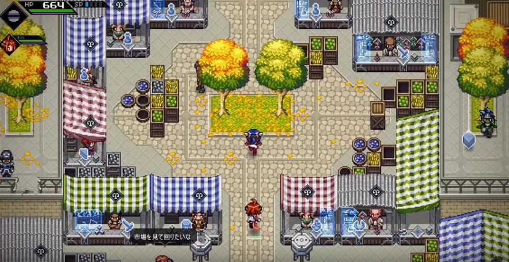 SNES-style RPG CrossCode coming to consoles July 9 screenshot