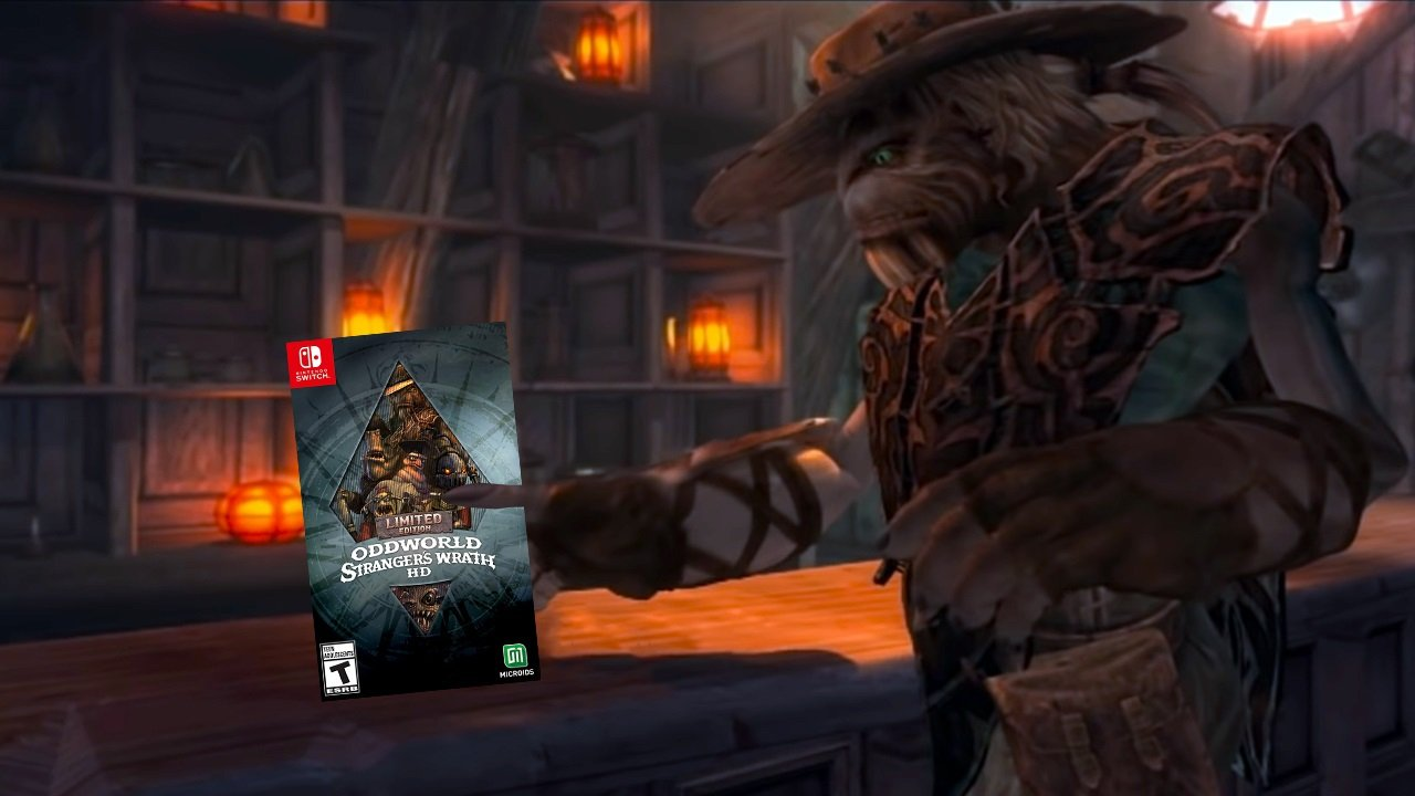 Contest: Win Oddworld: Stranger's Wrath HD Limited Edition for Switch screenshot