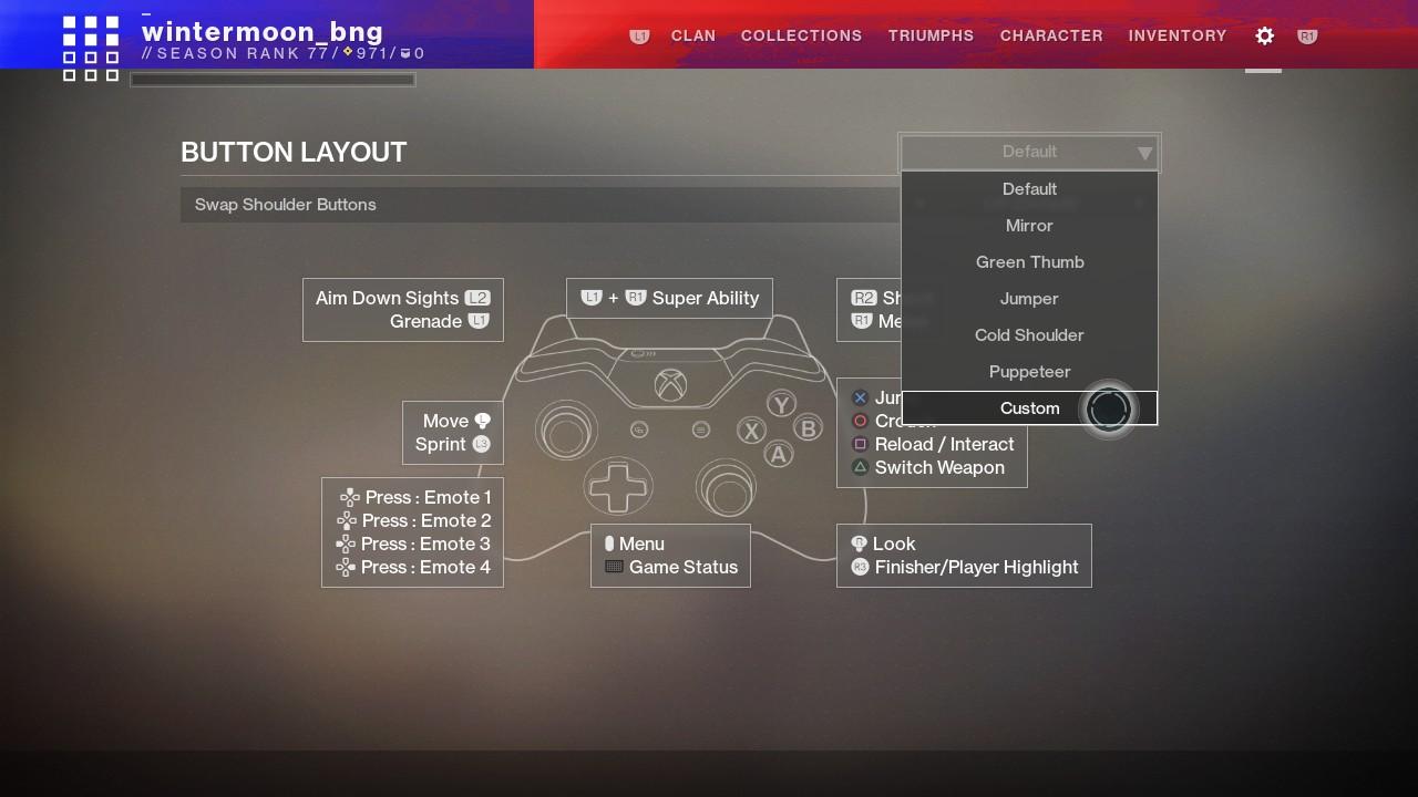 Destiny 2's next big patch will massively overhaul controller options screenshot