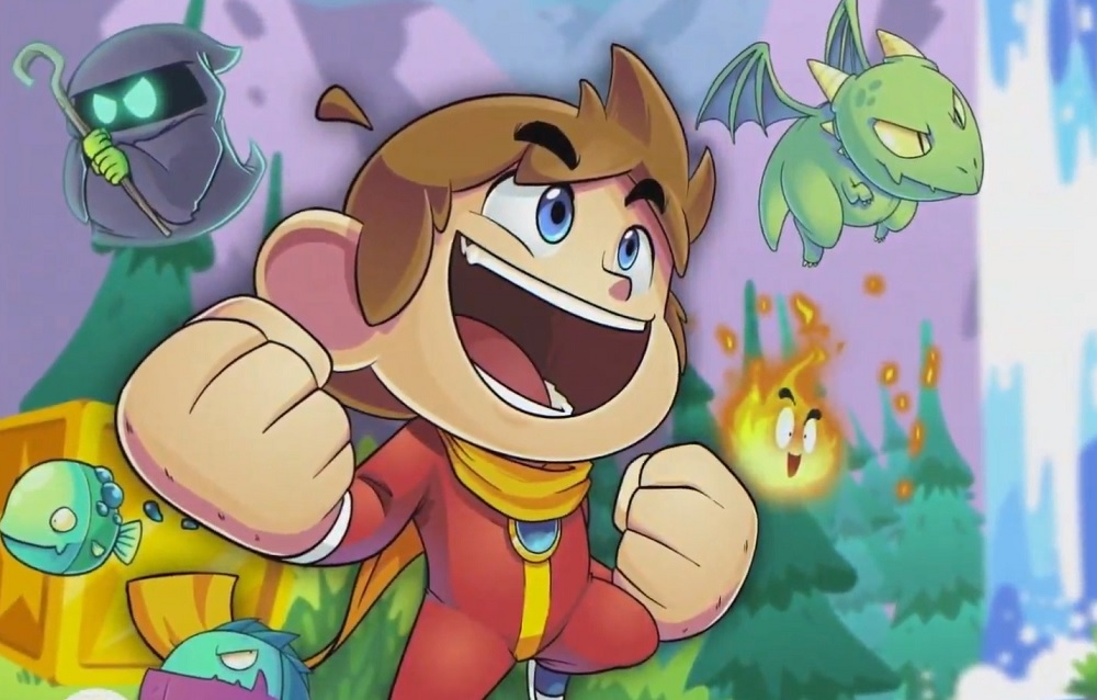 Alex Kidd in Miracle World is getting a cute-looking remake screenshot