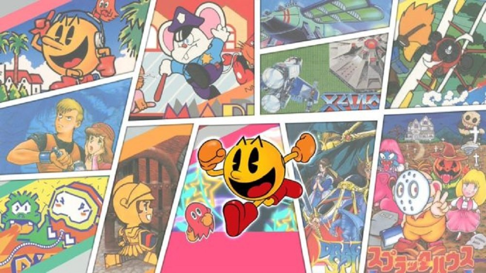 Namco Museum Archives Vol. 1 & 2 coming to PC and consoles next week screenshot