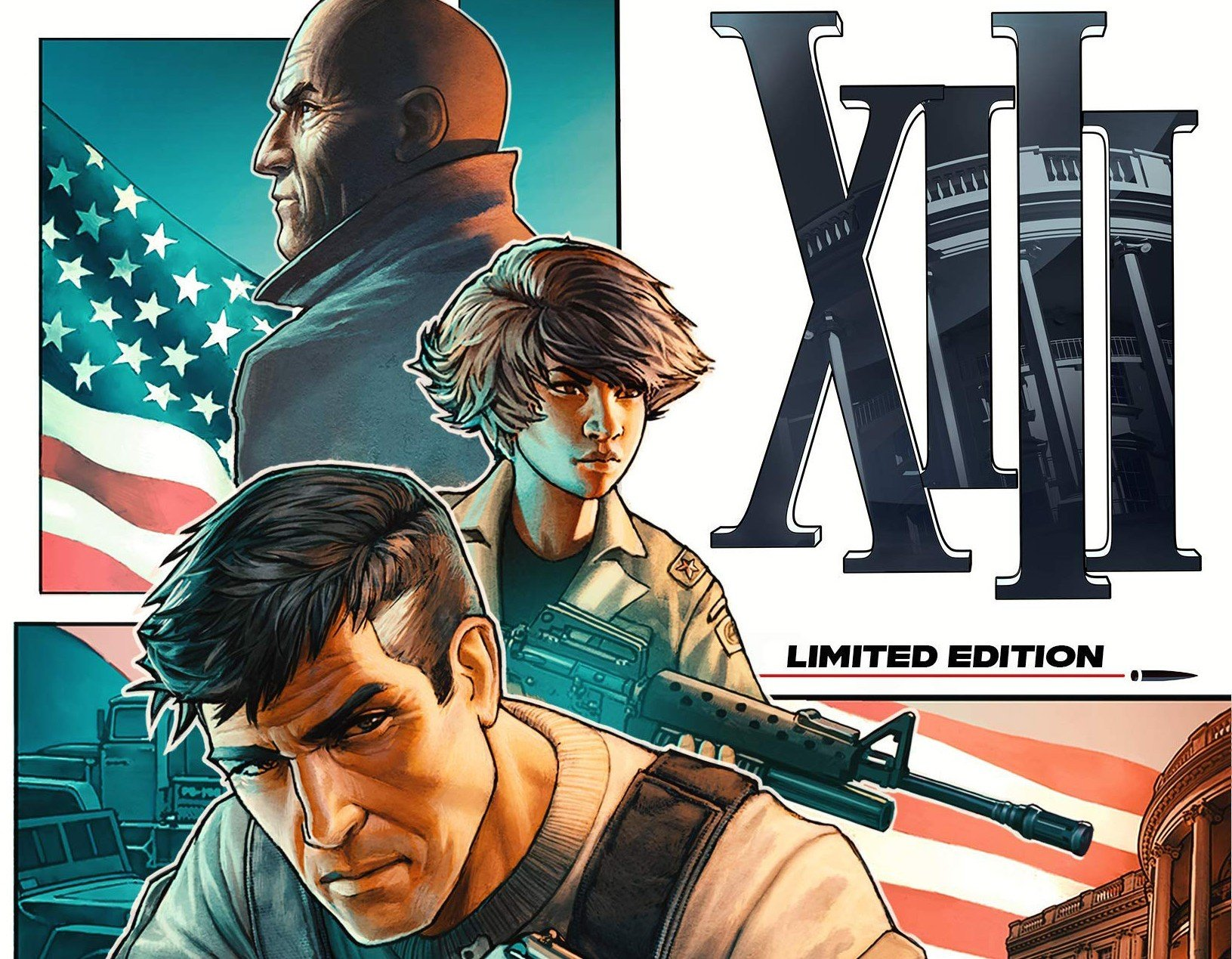 The XIII remake will debut in November, still slated for PC, PS4, Xbox One, Switch screenshot