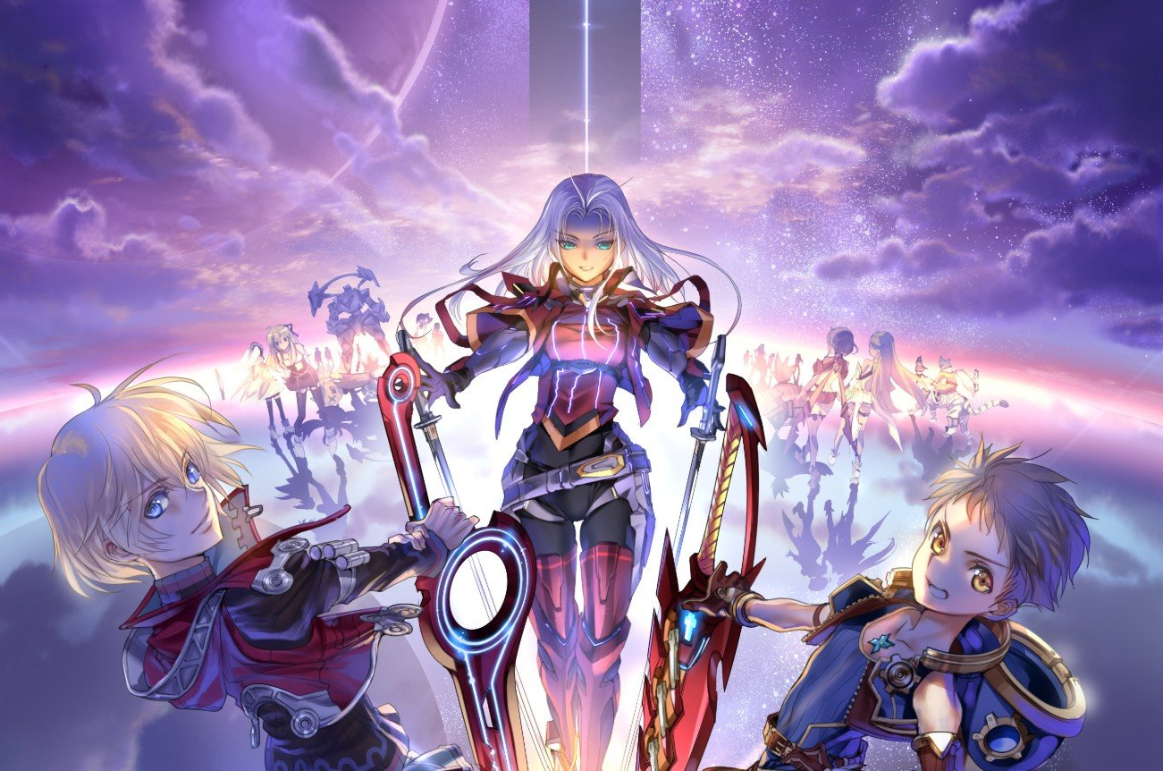 Xenoblade is 10 years old this week, Nintendo celebrates with some new art screenshot