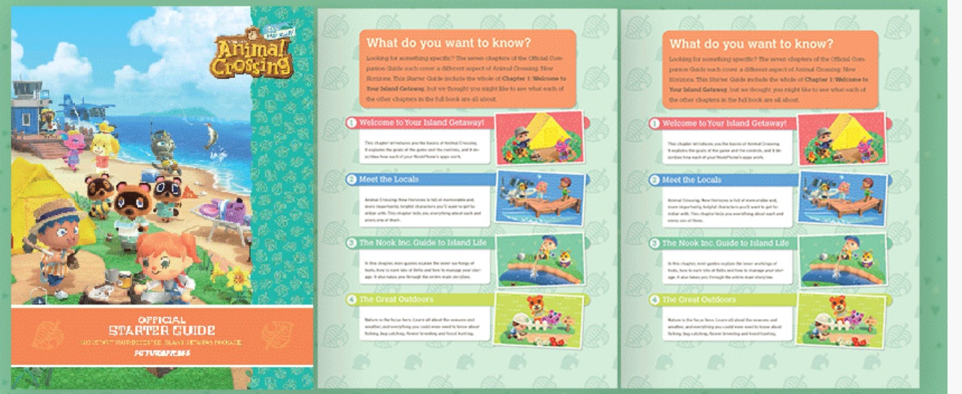 Nintendo has an Animal Crossing: New Horizons 'Starter Guide' available on My Nintendo for 75 Platinum Points screenshot