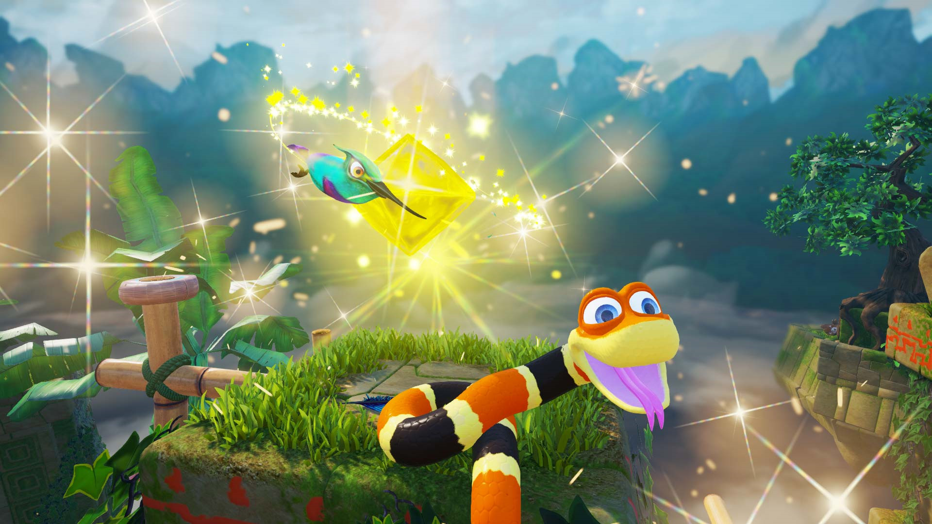 Put off Snake Pass all these years? It's free on Humble right now screenshot