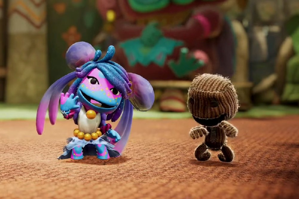 LittleBigPlanet star returns in Sackboy: A Big Adventure screenshot