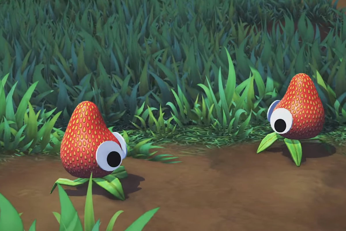 The Octodad studio's Googly-Eyed Strawberry game possibly won the PS5 stream screenshot
