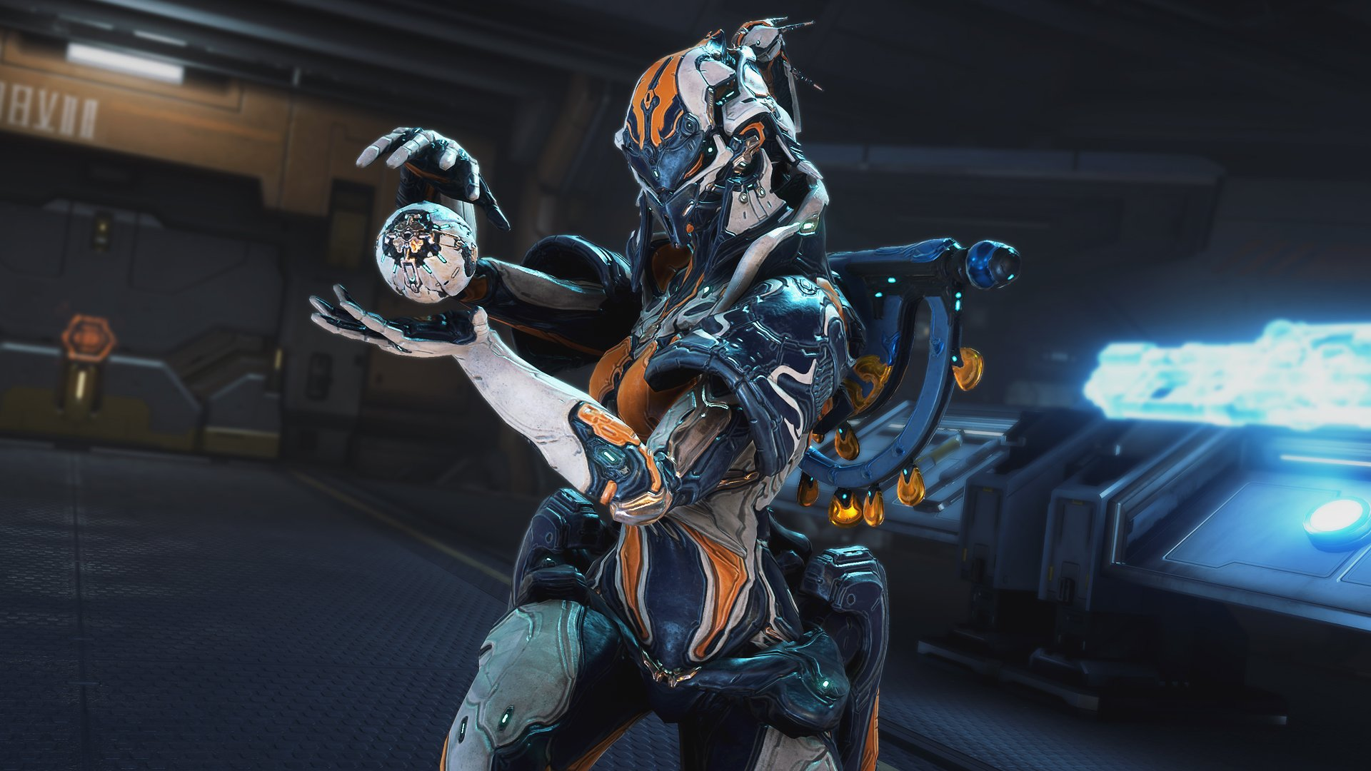 The new Warframe Protea has me awfully excited screenshot