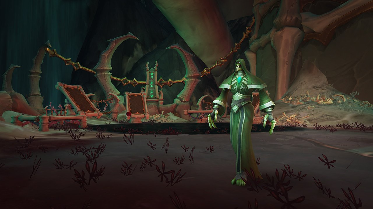 World of Warcraft gives us a look at the Necrolord Covenant, which is even edgier than the vampires screenshot