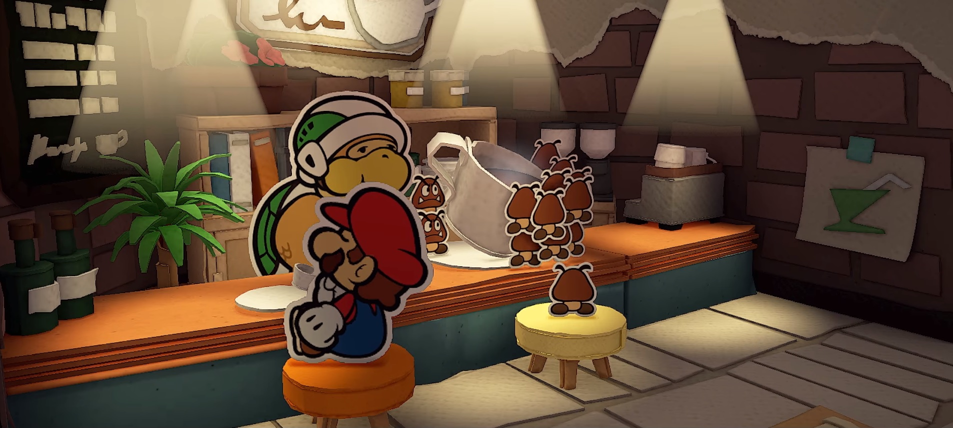 All the little details about Paper Mario: The Origami King are starting to unfold screenshot
