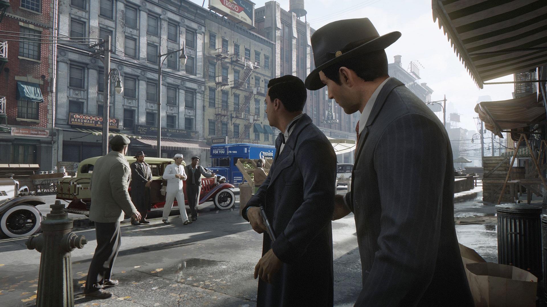 Here's a new trailer for the Mafia remake screenshot