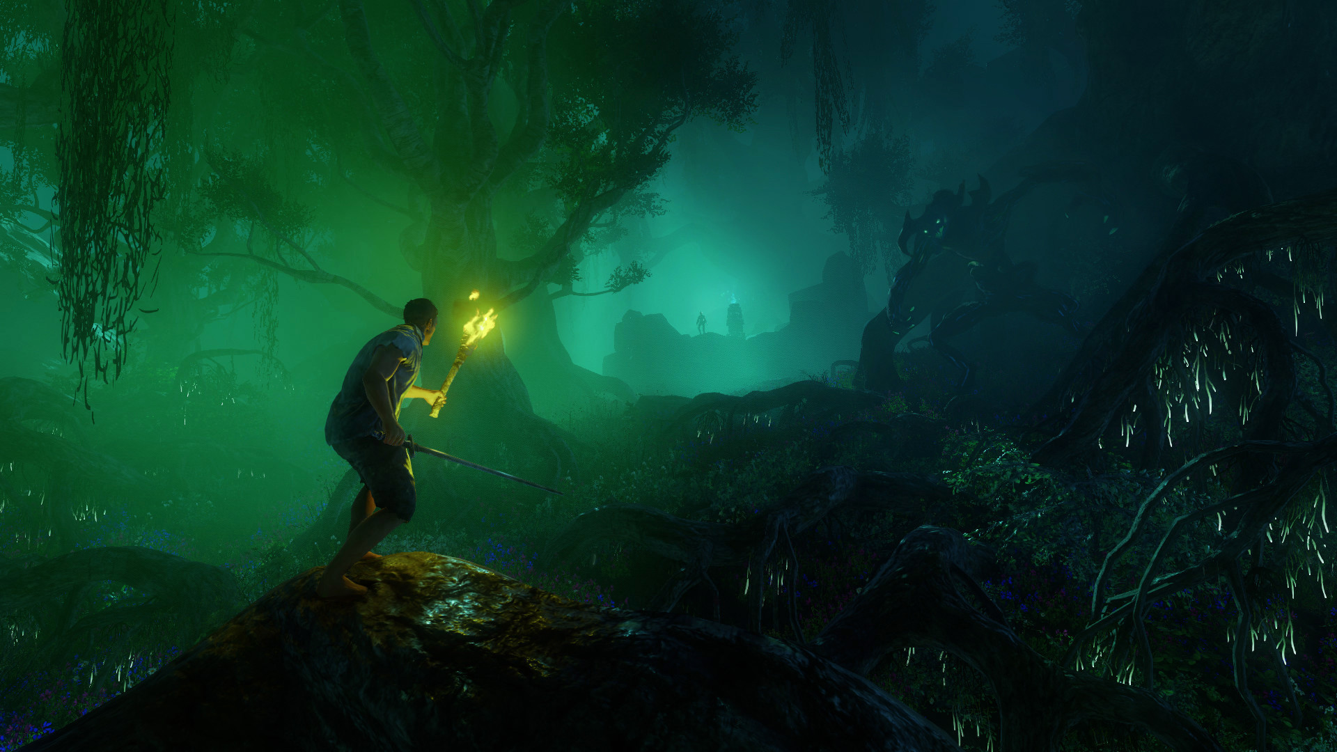 Get into the July beta for Amazon's New World by pre-ordering screenshot