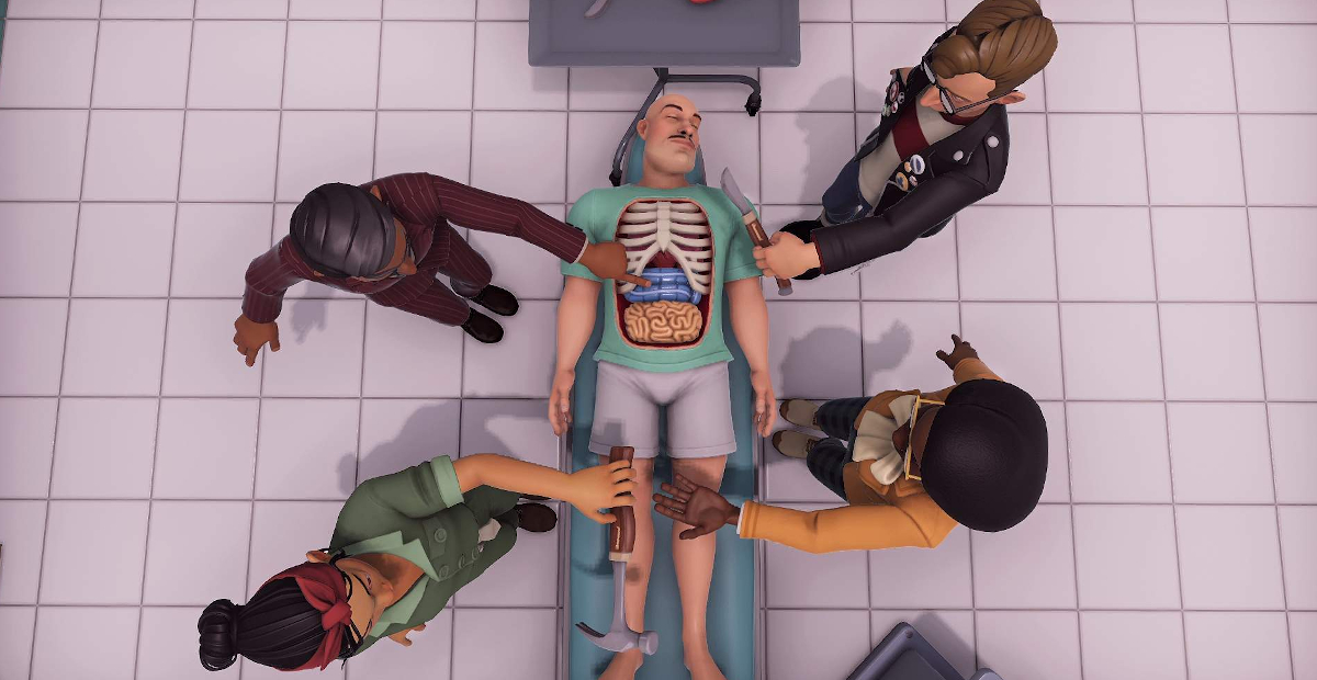Malpractice power fantasy Surgeon Simulator 2 coming this August to Epic Games Store screenshot