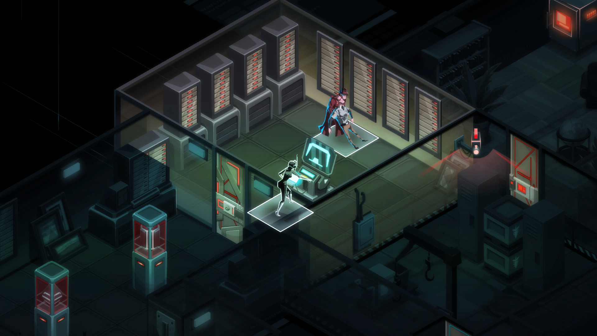 Invisible, Inc. popped up on the Nintendo Switch eShop today screenshot