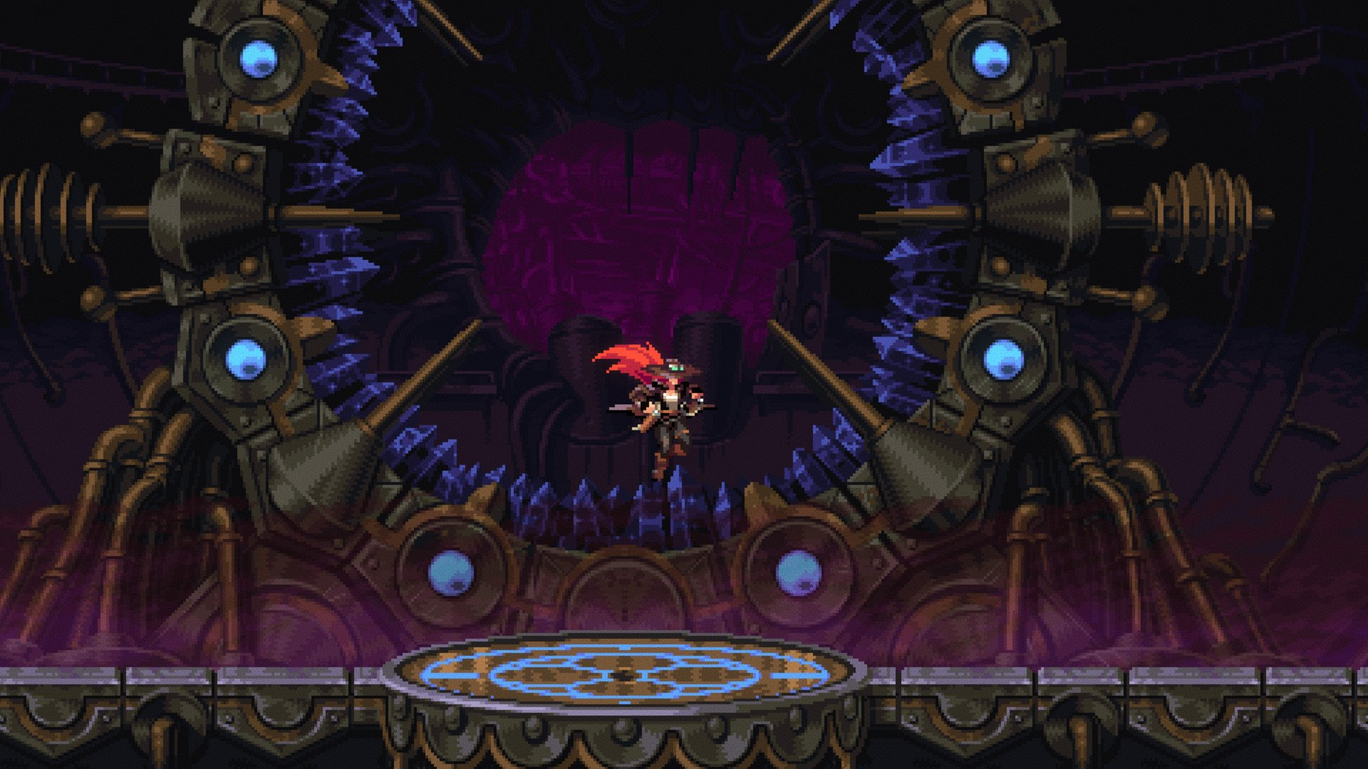 Gestalt: Steam & Cinder has a demo this week if you're down for a 2D action-RPG screenshot