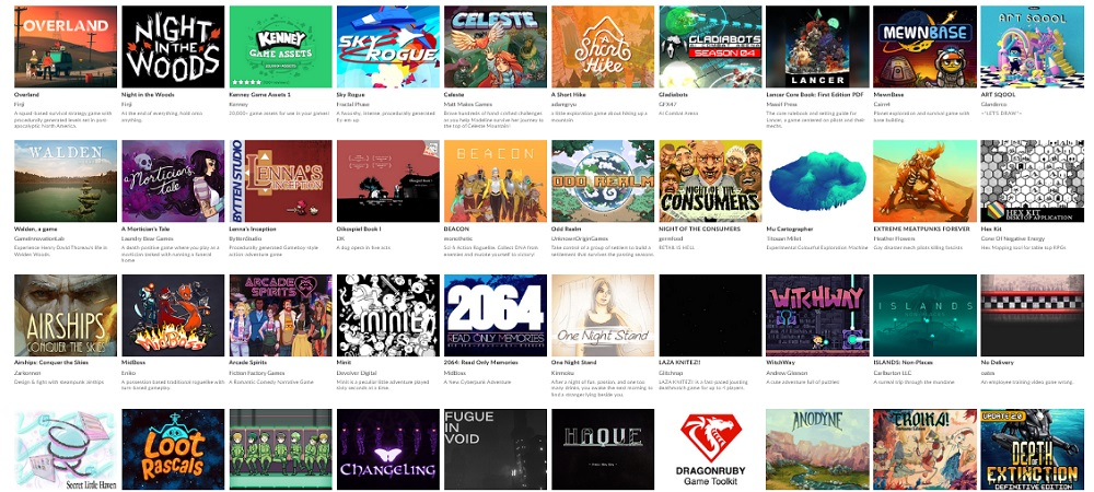 itch.io's Bundle for Racial Justice and Equality raised an amazing $8.1 million screenshot