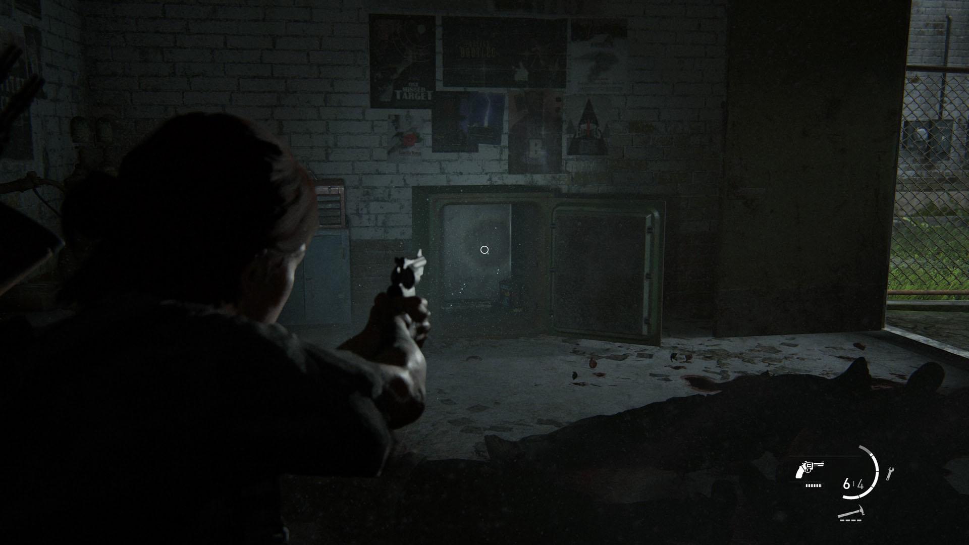 Last of Us Part II: How to open the suburbs garage safe screenshot