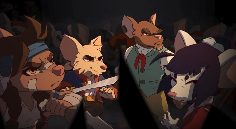 Curse of the Sea Rats is offering a physical 'Black Flag' edition as a backer reward screenshot