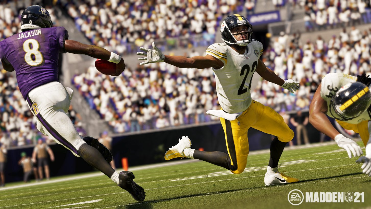 Lamar Jackson is the Madden NFL 21 cover athlete, and it'd be rude if we didn't all act surprised screenshot